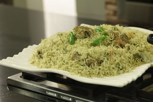 Sabz Chawal Recipe by Zubaida Tariq