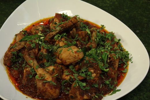 Kashmiri Chicken  Recipe by Zubaida Tariq
