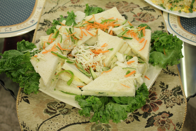 russian salad sandwiches recipe by zubaida tariq � recipes