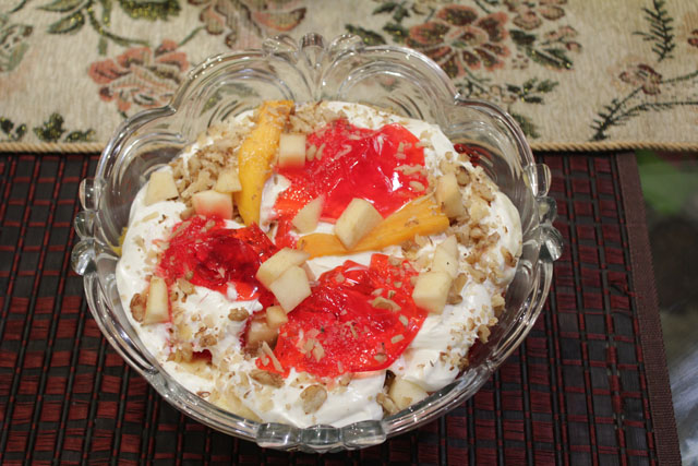Apple Mango Trifle recipe by Zubaida Tariq. This delightful Desserts recipe of Apple Mango Trifle can be ready in approximately 30 Minutes and good to serve around 2-4 People. Follow all the steps recommended by Chef to get a perfect dish.