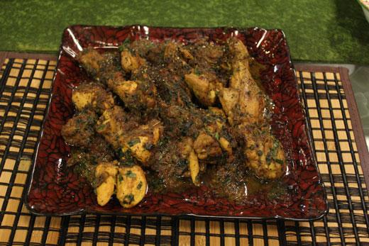 Murg Dhania Qorma Recipe by Zubaida Tariq