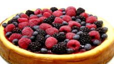 Berry Topped Cheesecake Recipe