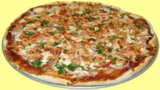 MICROWAVE CHICKEN PIZZA & PIZZA SAUCE