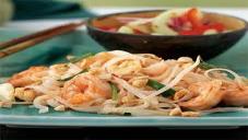 Pad Thai Noodles with Shrimps