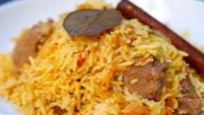 Mutton Zafrani (saffron) Pulao