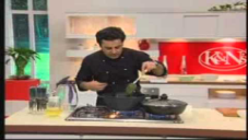 Chicken Badami Qorma & Chicken Roulade by Chef Mehboob