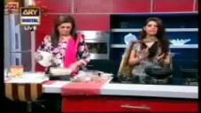 Banana Walnut Cake & Shan Instant Dahi Bara