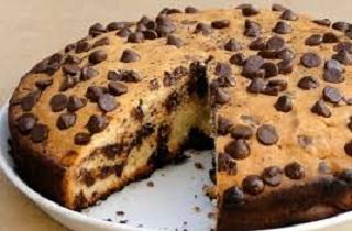 چاکلیٹ چپ کیک