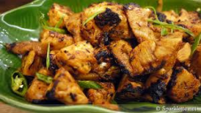 تندوری مرغی کی چاٹ