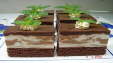 چاکلیٹ ماربل پڈنگ
