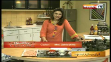 CHICKEN SCHEZWAN & STYLE FRUIT CHATT By Chef Amina Mujeeb Khan