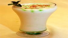 Lime Coconut Mint Lassi By Chef Fauzia