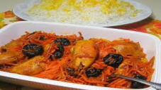 Chicken with Carrot By Chef Fauzia