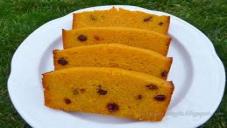 Baked Suji and Besan Cake
