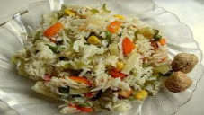 Vegetable Pulao 2 (Sabzi Pulao)