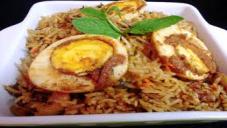 Egg Pulao (Anda Pulao)