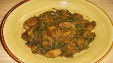 Shrimps With Spinach (Jinga Palak)