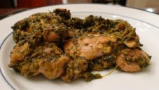 Spiced Chicken with Spinach (Palak Murg)