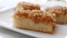ہاٹ ملک کوکونٹ کیک