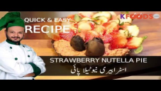 Quick Strawberry Nutella Pie Recipe