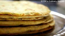 73 - گھریلو نان/توے کی مسی روٹی