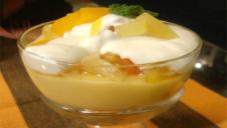 Fruit Custard Cup