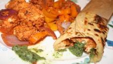 Chicken Khati Roll