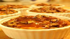 Caramel Pecan and Pumpkin Pudding