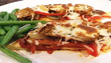 Low-Carb Chicken Pizza