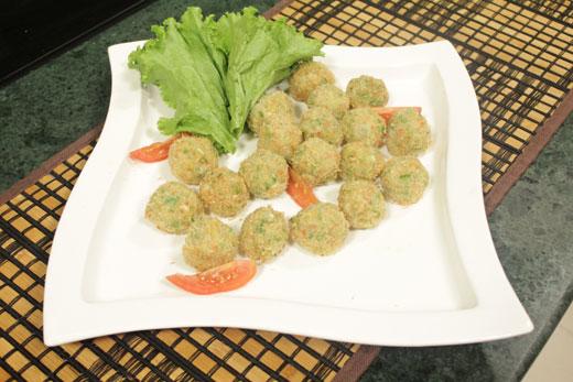 Deep Fried Coconut Prawn Boll Recipe by Chef Zakir