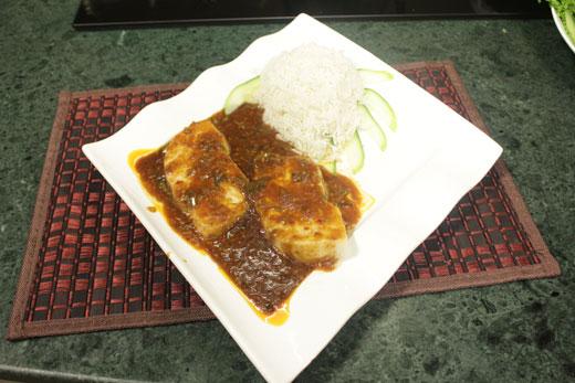 Steam Fish In Chili Sauce Recipe by Chef Zakir
