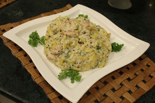 Macaroni With Prawn Recipe by Chef Zakir