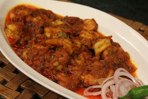 Prawn Cream Masala Recipe by Chef Zakir